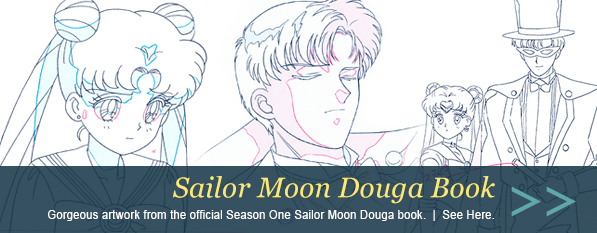 Official Sailor Moon Douga Book